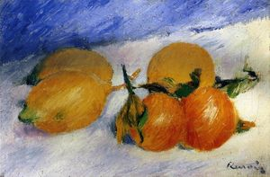 Pierre-Auguste Renoir - Still Life with Lemons and Oranges
