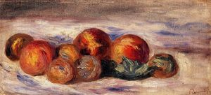 Pierre-Auguste Renoir - Still Life with Peaches 1