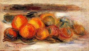 Pierre-Auguste Renoir - Still Life with Peaches