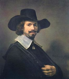 Rembrandt Van Rijn - The Painter Hendrick Martensz. Sorg