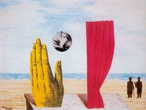 Rene Magritte - Collage