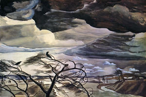 Charles Ephraim Burchfield - March Wind 1