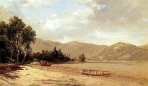 David Johnson - View of Dresden, Lake George