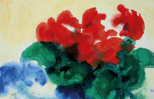 famous painting Cyclamen of Emile Nolde