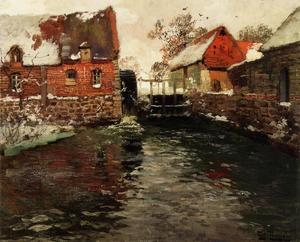 Frits Thaulow - The Mill