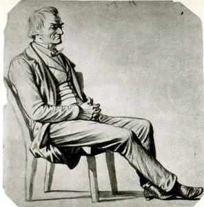 George Caleb Bingham - Study of a Figure 19