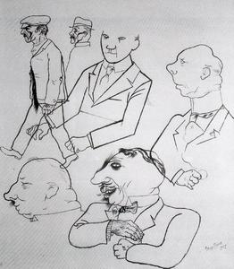 George Grosz - German type