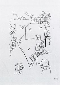 George Grosz - Suburb