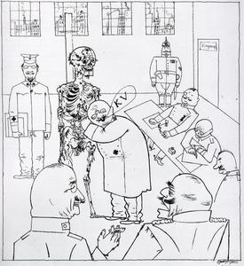 George Grosz - The faith healer