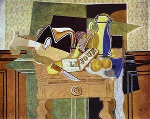 Georges Braque - Still Life with ''Le Jour''