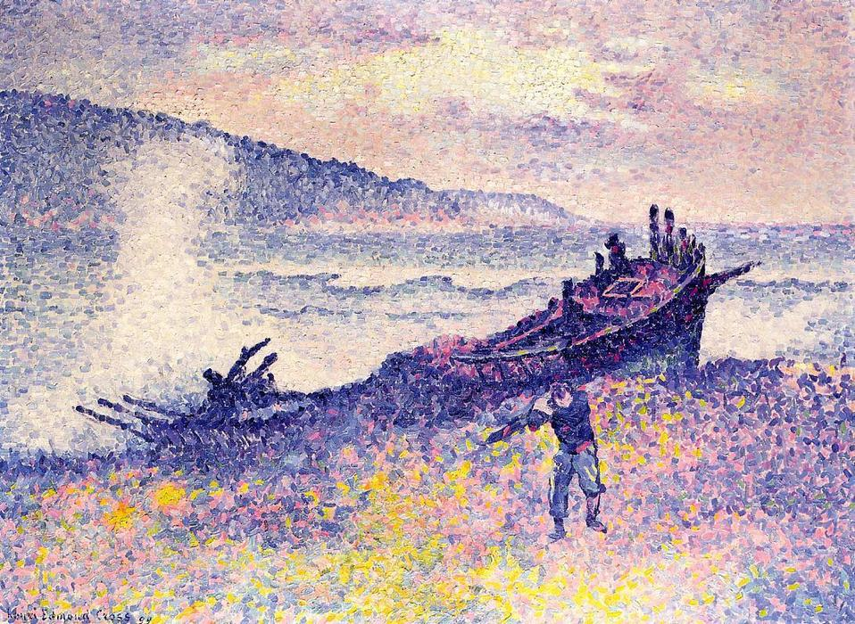 famous painting The Wreck of Henri Edmond Cross