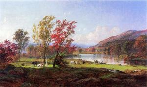 Jasper Francis Cropsey - On the Saw Mill River