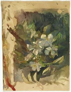 John La Farge - Apple Blossoms in Sunlight