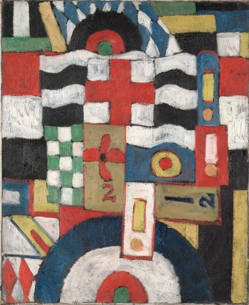 famous painting Military of Marsden Hartley