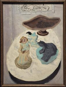 Milton Avery - Still Life with Figure