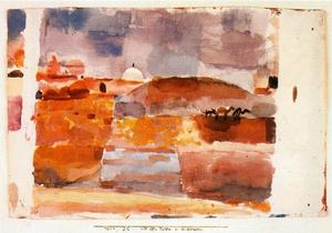 Paul Klee - At the gates of Kairouan
