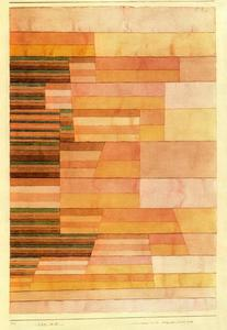 Paul Klee - Monument on the Border of the Fertile Country