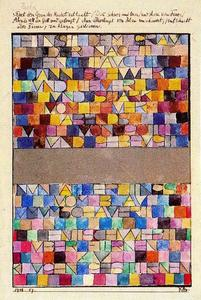 Paul Klee - Once Emerged from the Gray of Night