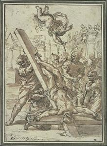 Pietro Da Cortona - The Martyrdom of St. Peter