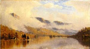 Sanford Robinson Gifford - Clearing Storm over Lake George