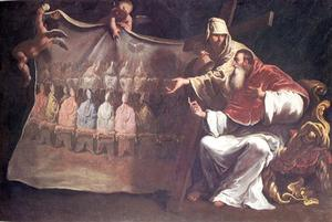 Sebastiano Ricci - Pope Paul III Proclaims