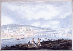 Thomas Girtin - Rochester, Kent, from the North