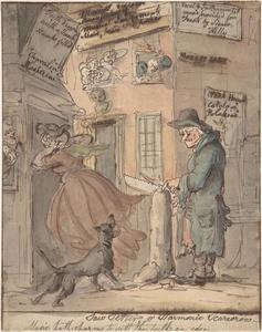 Thomas Rowlandson - The Saw-Setter