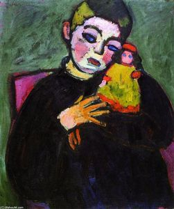 Alexej Georgewitsch Von Jawlensky - Child with Doll