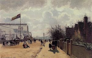 Camille Pissarro - The Crystal Palace, London