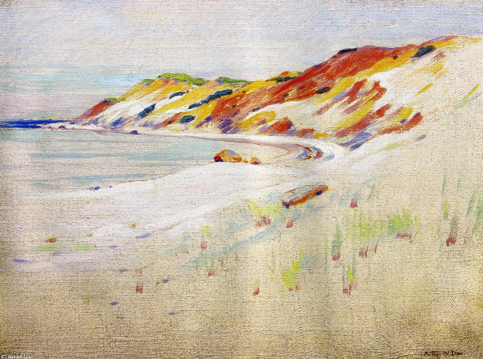 famous painting Gay Head, Martha's Vineyard of Arthur Wesley Dow