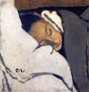 Jean Edouard Vuillard - Girl Sleeping