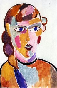 Alexej Georgewitsch Von Jawlensky - Head No. 2