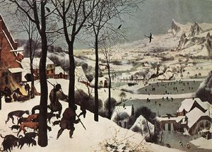 Pieter Bruegel The Elder - The Hunters in the Snow (Winter)