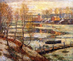 Ernest Lawson - In the River