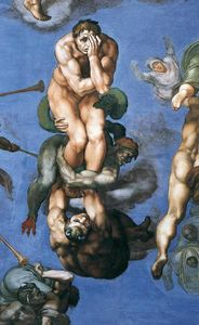 Michelangelo Buonarroti - Last Judgment (detail) (12)