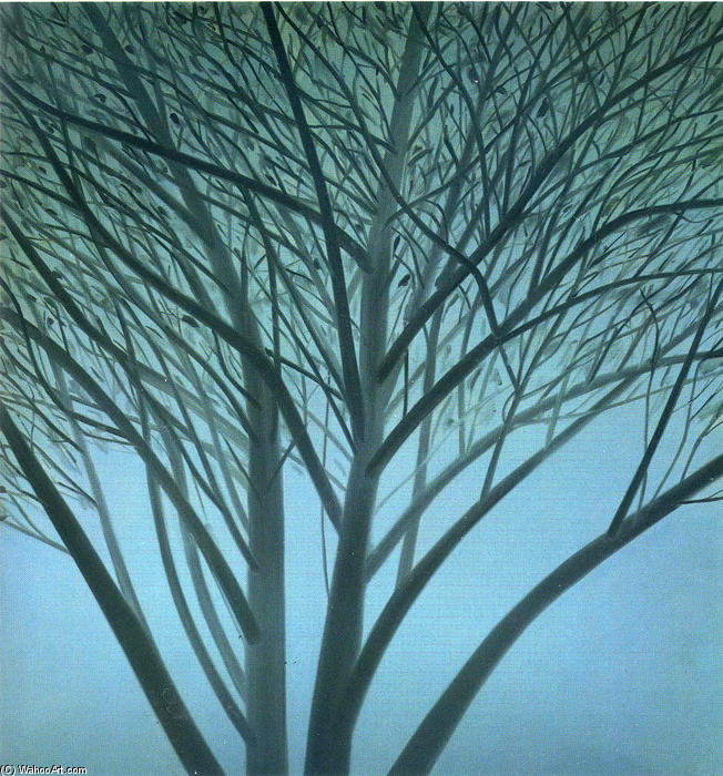 famous painting A Tree In Winter of Alex Katz