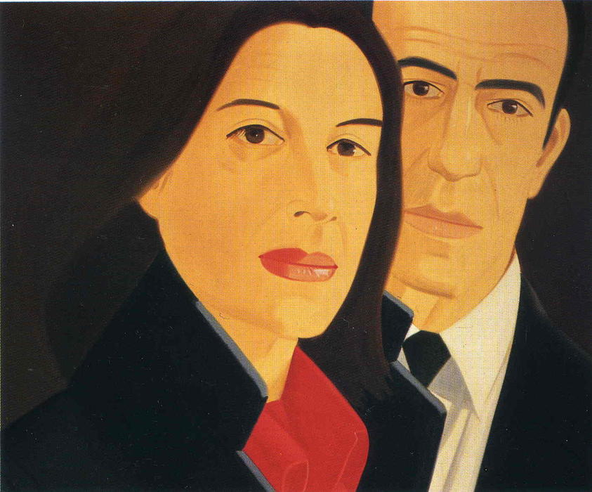 | Ada And Alex by Alex Katz | BuyPopArt.com
