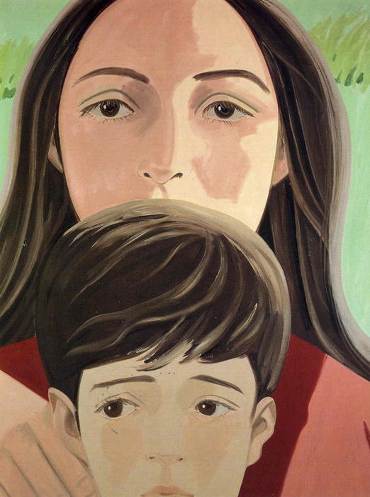 famous painting Ada And Vincent of Alex Katz