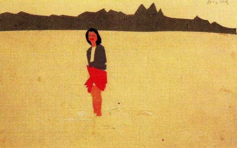 | Ada in the Water by Alex Katz | BuyPopArt.com