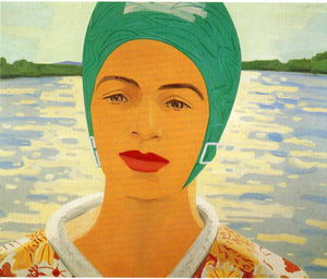 Alex Katz - Ada With Bathing Cap