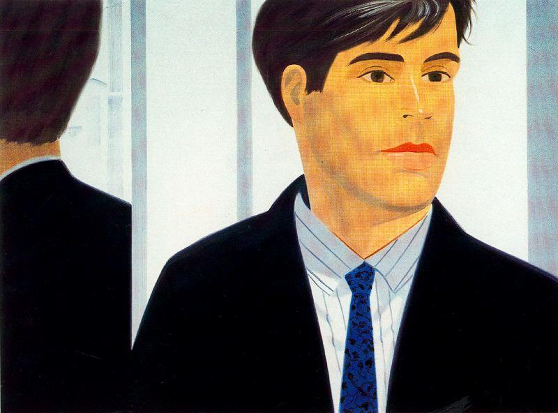 famous painting John of Alex Katz