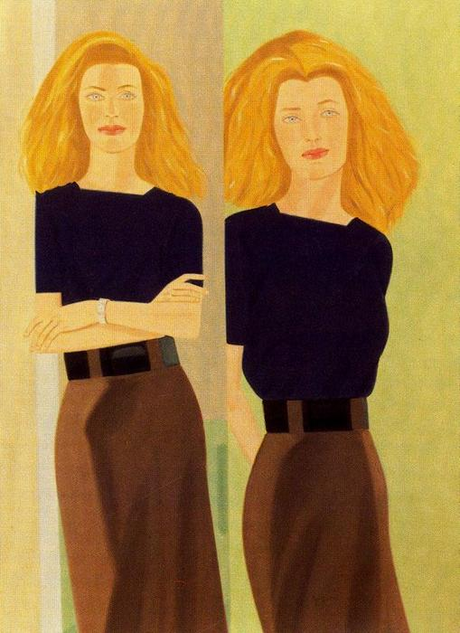 famous painting Nell of Alex Katz