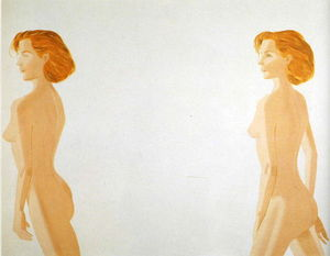 Alex Katz - Red Nude