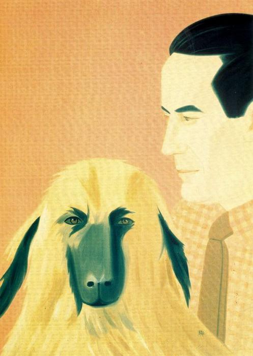 famous painting Roger and Sophie of Alex Katz