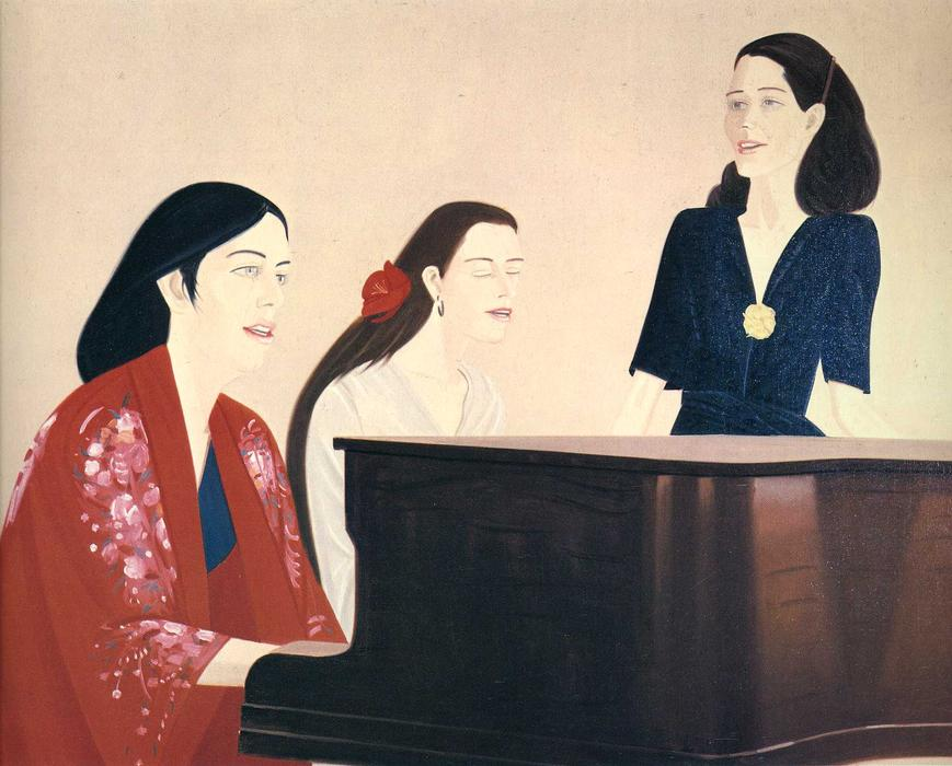 famous painting Song of Alex Katz