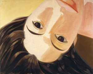 Alex Katz - Upside Down Ada
