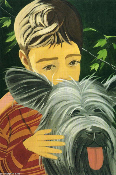 famous painting Vincent And Sunny of Alex Katz
