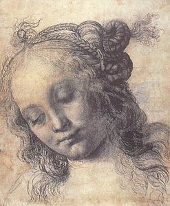 Andrea Del Verrocchio - Woman Looking Down