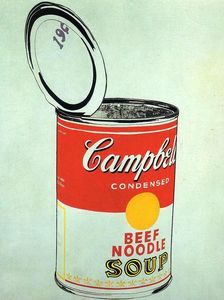 Andy Warhol - Campbell'S Soup Can (beef)