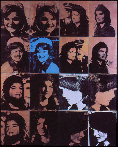 famous painting Jackie of Andy Warhol